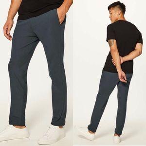 Lululemon Commission Pant Slim Leg Gray Mens Sz 32
